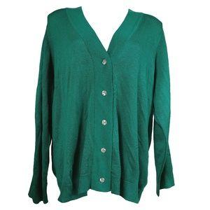 Avenue Plus Size Knit Cardigan